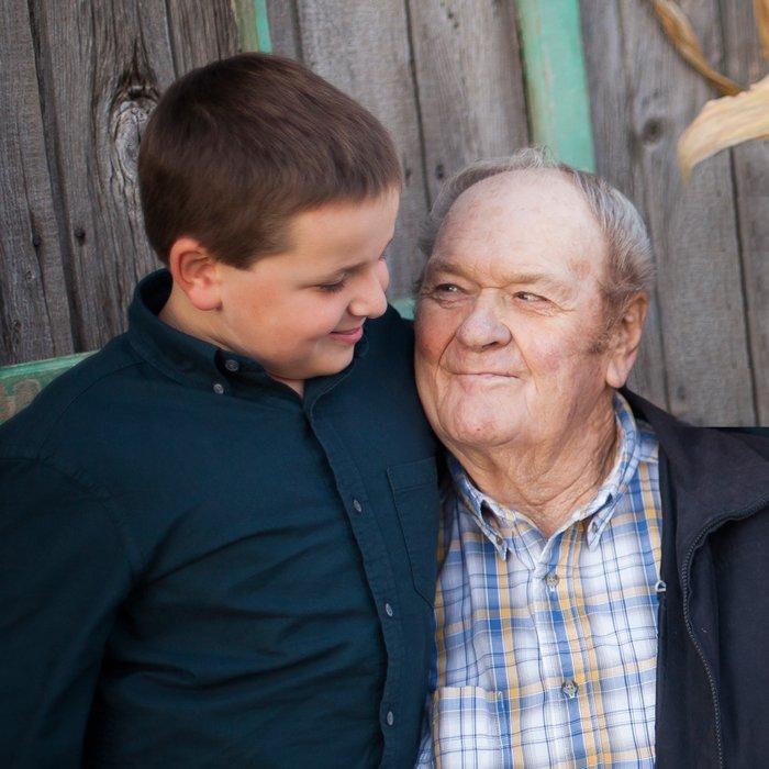 Nicholas and Great Grandpa