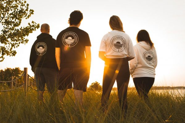 Canada's South Coast Clothing Co. Inc. Backs of products