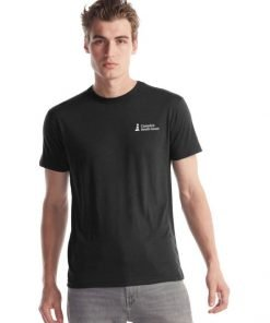 Canada's South Coast Clothing Co. Inc. Bamboo Classic Tee - Front Black