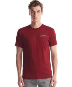 Canada's South Coast Clothing Co. Inc. Bamboo Classic Tee - Front Bordeaux