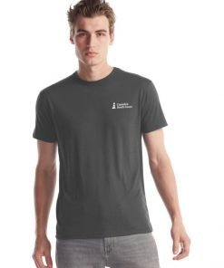 Canada's South Coast Clothing Co. Inc. Bamboo Classic Tee - Front Charcoal
