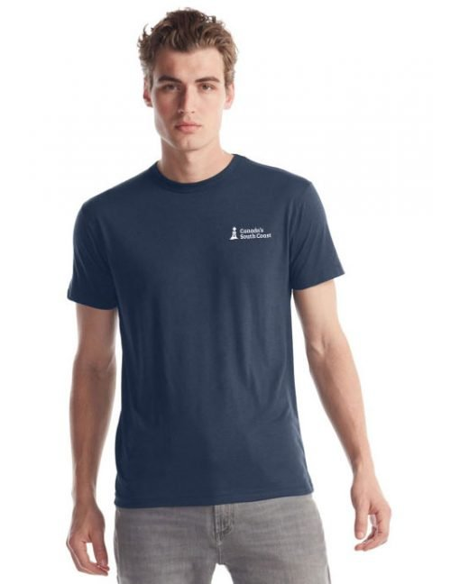 Canada's South Coast Clothing Co. Inc. Bamboo Classic Tee - Front Midnight Blue