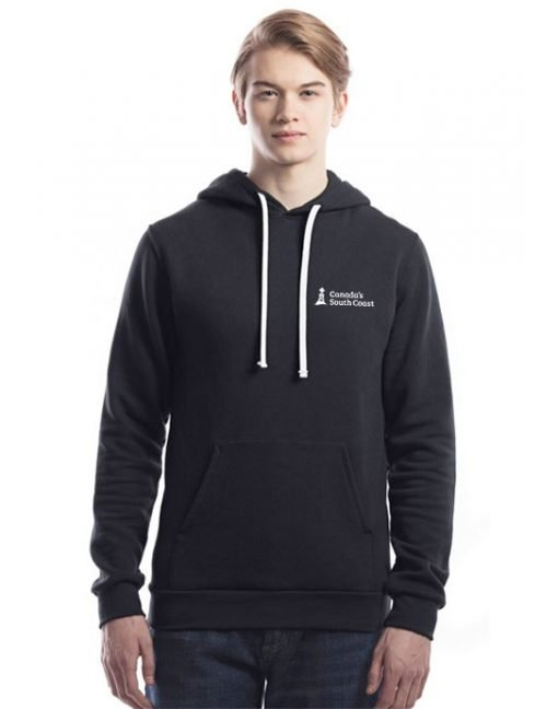 CSCC Bamboo Hoodie - Front Black