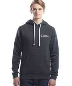 CSCC Bamboo Hoodie - Front Charcoal