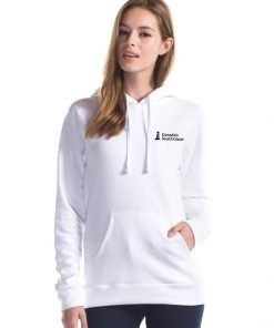 CSCC Bamboo Hoodie - Front White