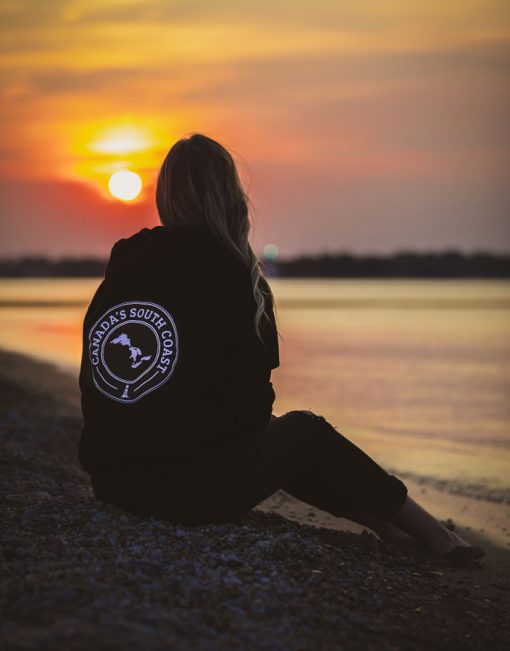 Canada's South Coast Clothing Co. Inc. Black Bamboo Hoodie