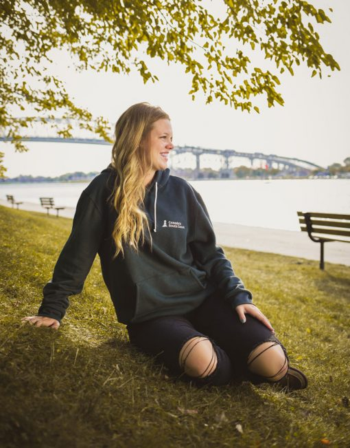 Canada's South Coast Clothing Co. Inc. Charcoal Bamboo Hoodie